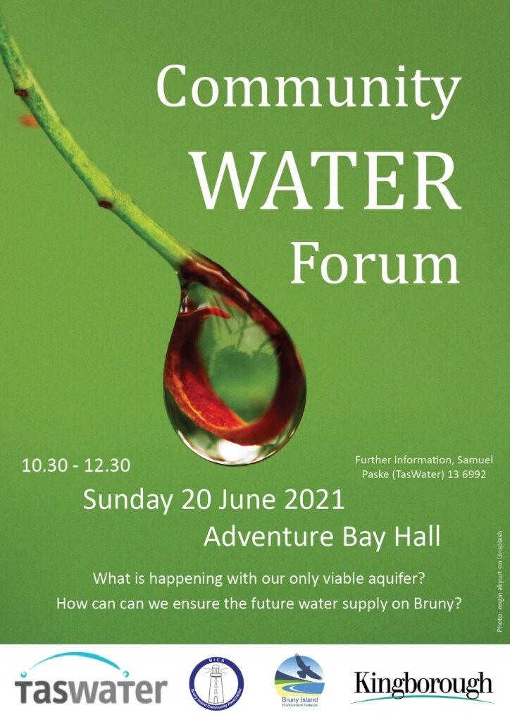 Community Water Forum